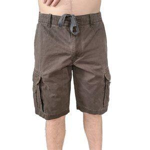 BANANA REPUBLIC Brown Cotton Cargo Shorts 33